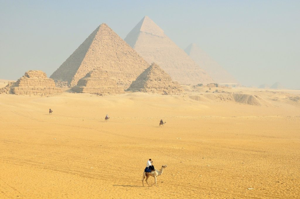 The Great Pyramid of Giza is the only remain wonder to this day from the original Seven Wonders.
